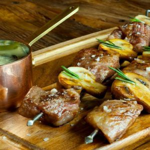 Brochetas de secreto
